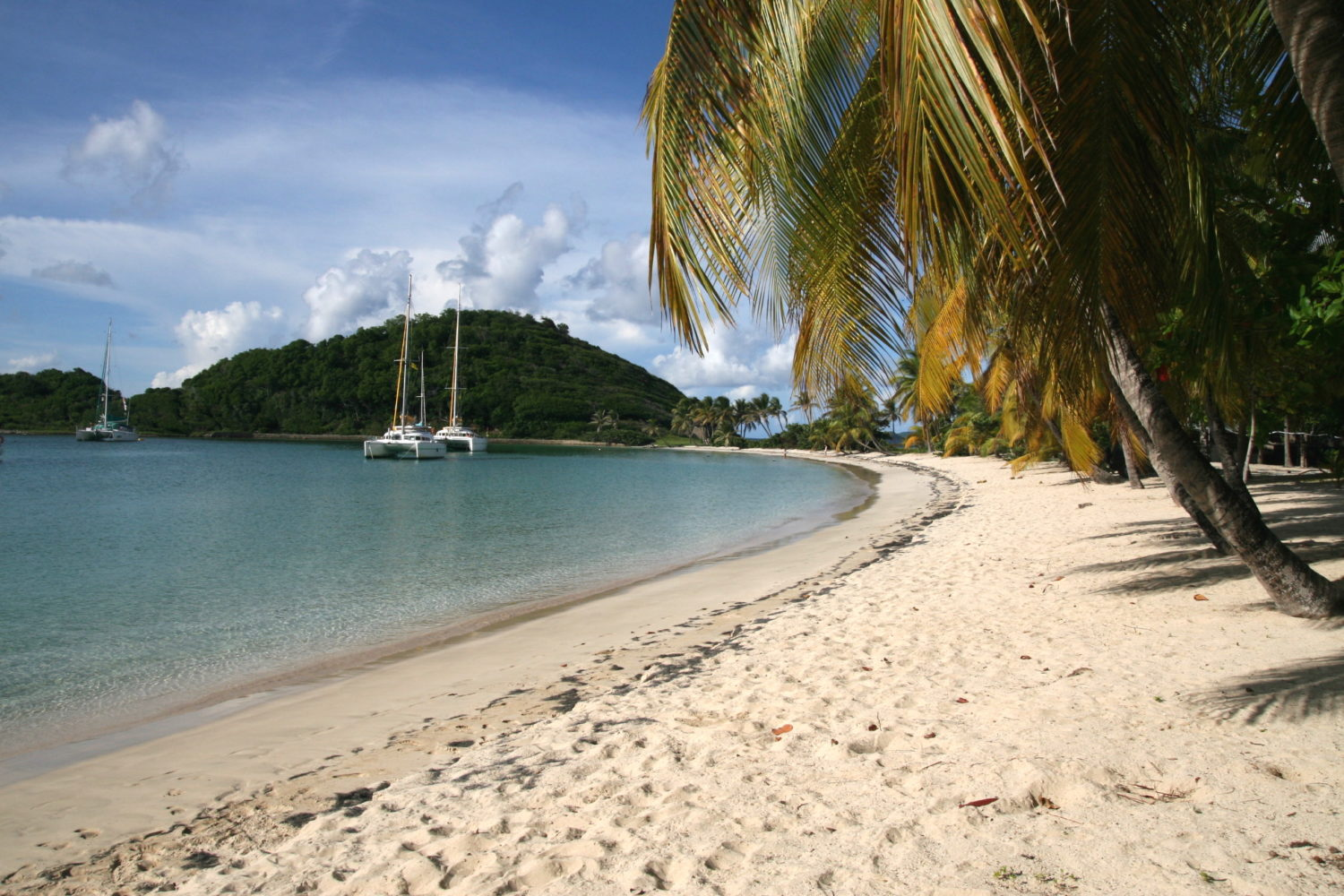 Canouan Island in the Grenadines