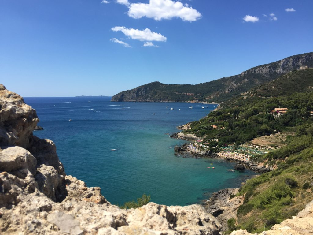 The coast of Monte Argentario - a perfect yacht charter destination