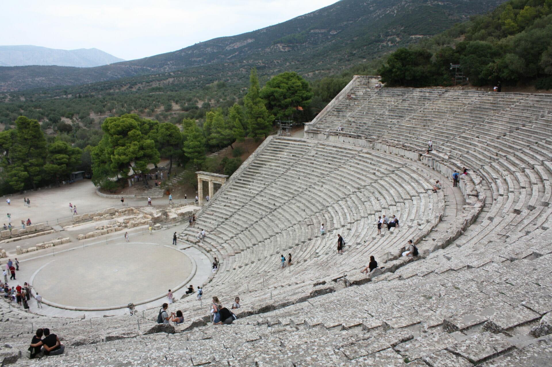 Amphitheatre of Epidauro