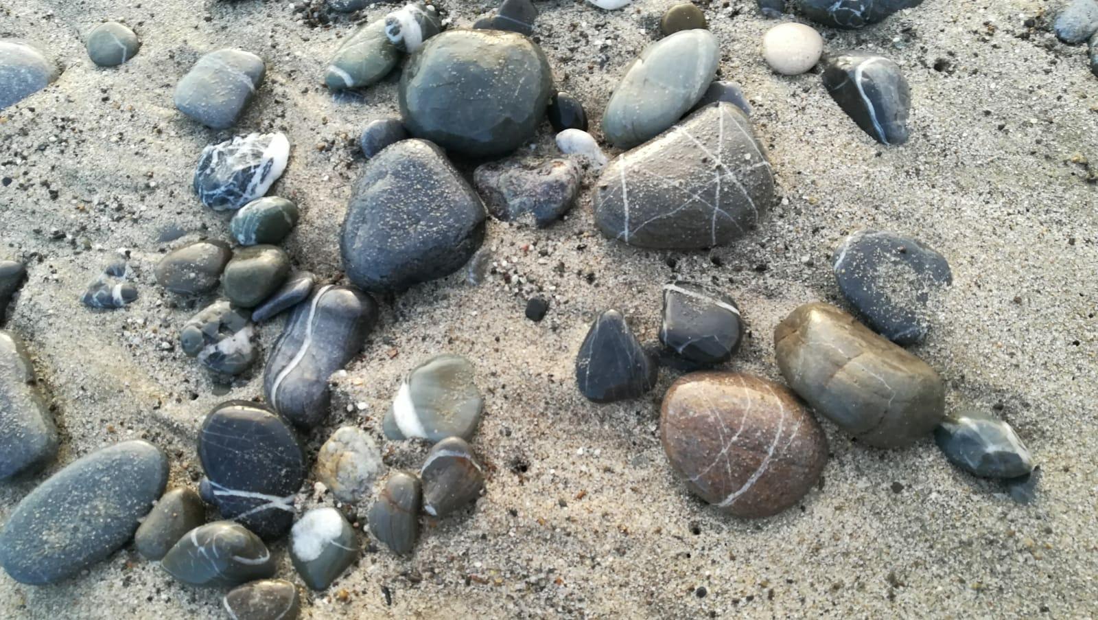 Pebble beach in Cilento