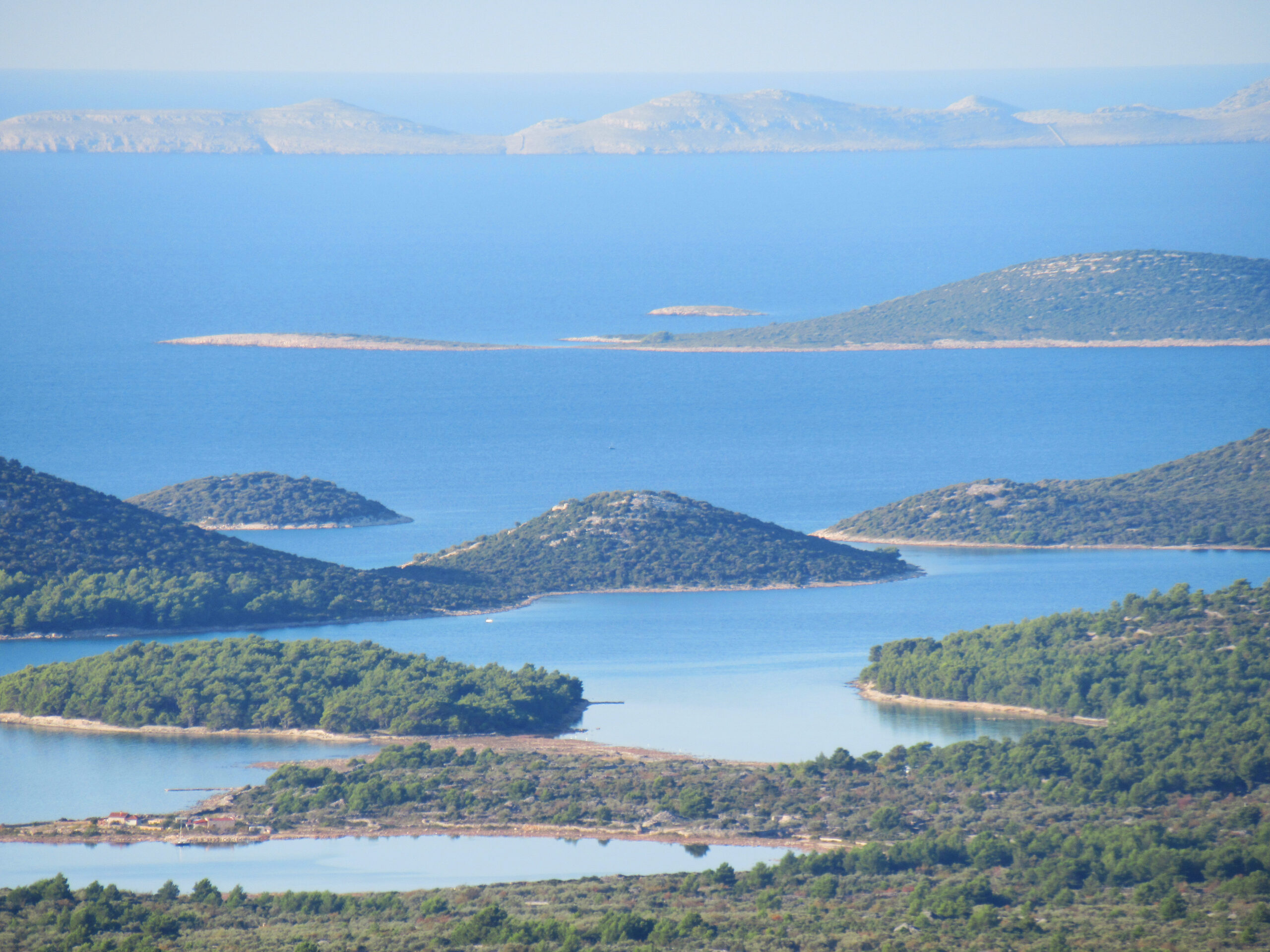 View over the Kornati Islands