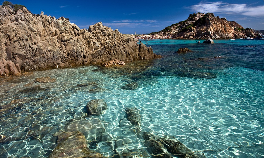 The Maddalena Archipel in Sardinia