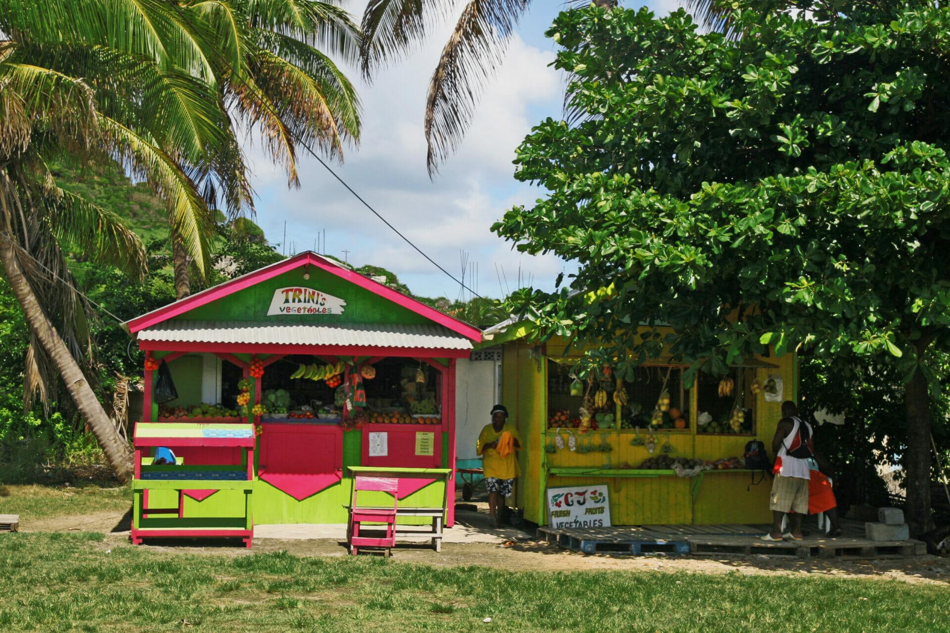 Shops in the Grenadines