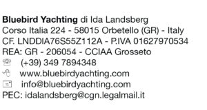 Impressum Bluebird Yachting