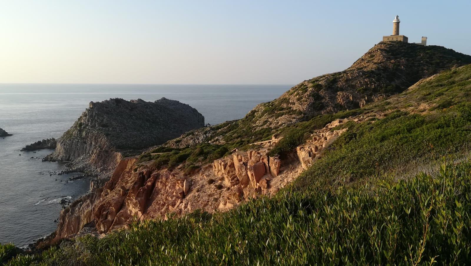 Capo Sandalo all'isola di San Pietro