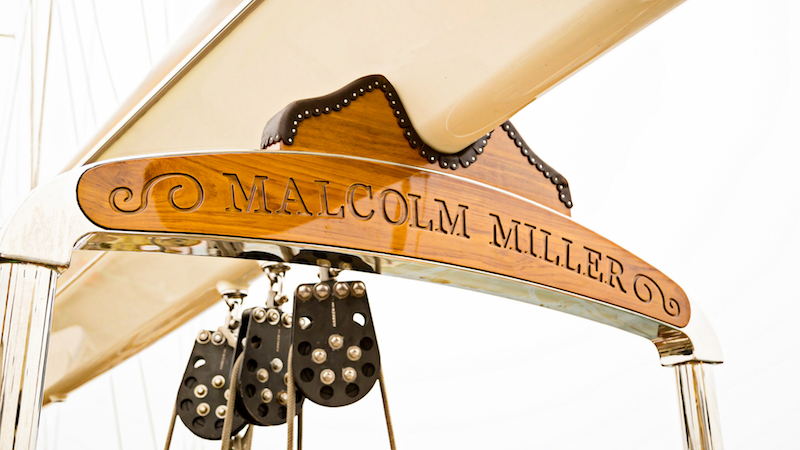 SY Malcolm Miller yacht name