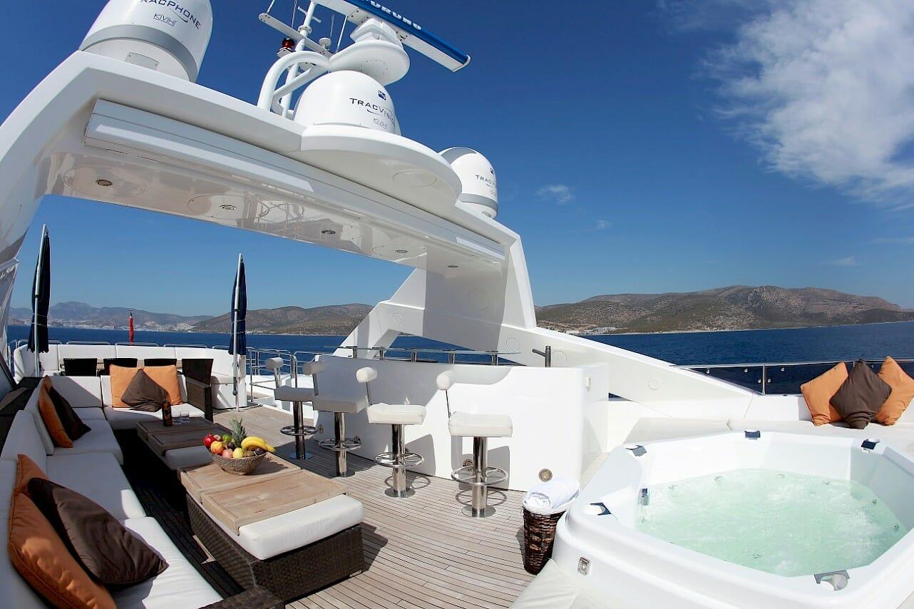 Barracuda Red Sea - Flybridge