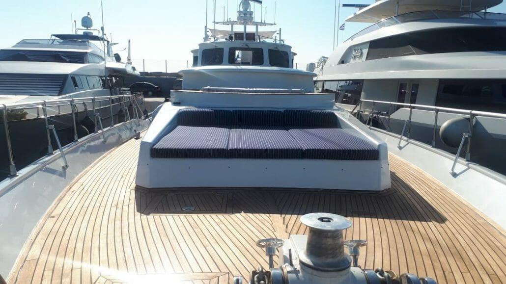 Motoryacht Alaya - sunbathing area
